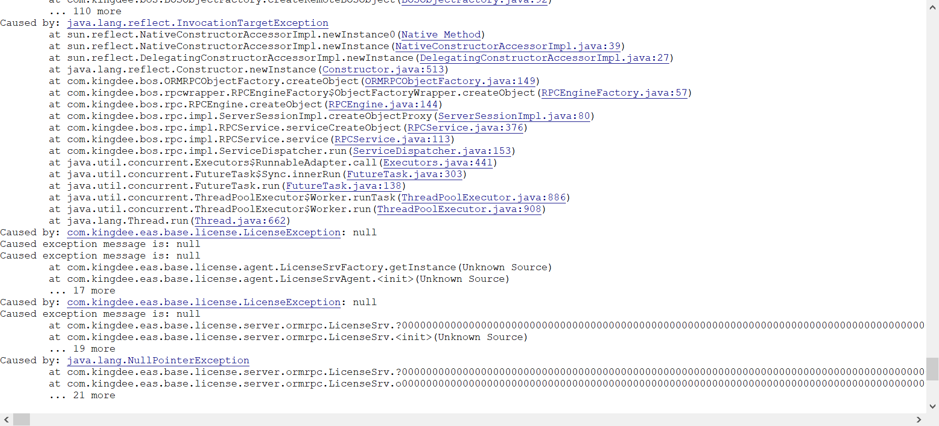BOS WEB端开发无法访问--心态爆炸