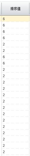 二开销售发票账龄分析表,无法排序